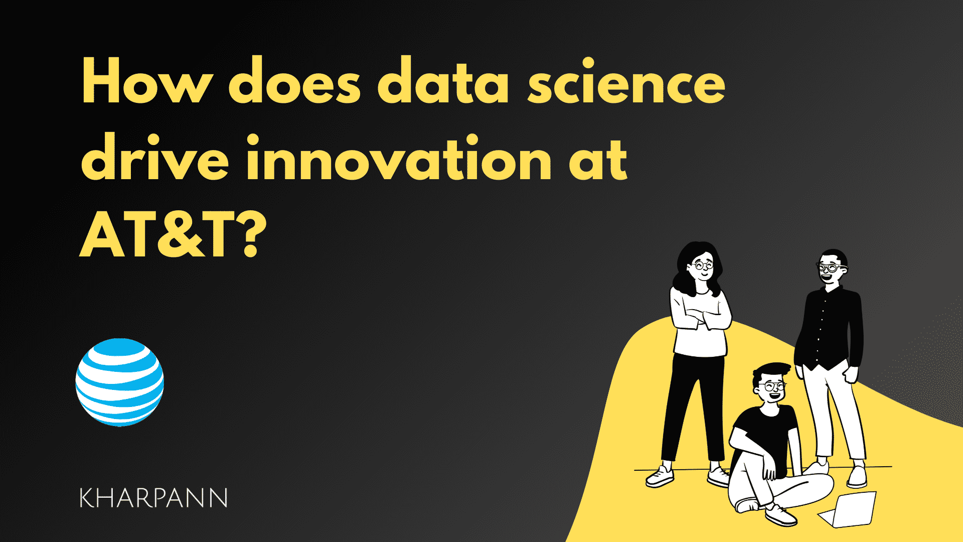 How does data science drive innovation at AT&T?